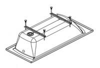 Упрощенный каркас для акриловой ванны Касабланка М 150 и 170 см (без сифона)