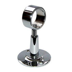 Крепление-кронштейн телескопический для полотенцесушителя с кольцом (на трубу 32 мм.) (101SCS6610) фото