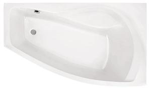 Ванна акриловая угловая асимметричная Майорка 150х90, правая, белая, без ножек фото