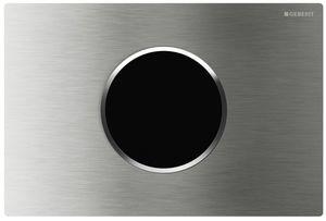 Смывная клавиша бесконтактная инфракрасная дистанционная Sigma10 3V (от батареек), нержавеющая сталь, антивандальная, матовая  / полированная фото