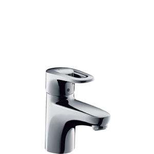 Cмеситель для умывальника с донным клапаном Metropol Е, хром фото