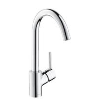 Смеситель для кухни и кухонной мойки с выдвижным изливом (лейкой) Talis S2 Variarc однорычажный