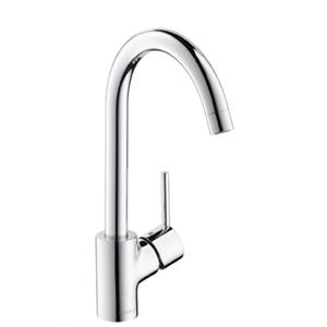 Смеситель для кухни и кухонной мойки с выдвижным изливом (лейкой) Talis S2 Variarc однорычажный фото