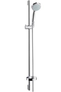 Душевая стойка (душевой гарнитур со штангой) Croma 100 Vario, штанга 900 мм, с мыльницей хром фото