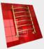 Полотенцесушитель водяной в форме лестницы Модель R 80/50  6 полок, нижнее подключение, цвет золото, K1 (без углов) фото