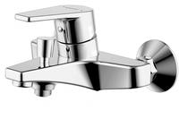 Смеситель для ванны Line с коротким изливом и душевой лейкой