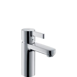 Cмеситель для умывальника с донным клапаном Metris S однорычажный, хром фото