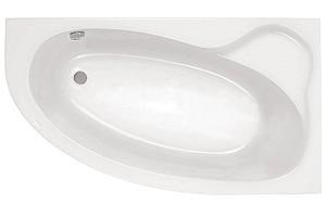 Ванна акриловая угловая асимметричная Эдера 170х110, правая, белая, без ножек фото