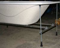 Каркас усиленный облегченный алюминиевый для монтажа ванн Тритон серии Стандарт-140