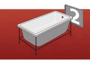 Торцевая панель для ванны Персей фото