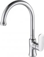 Смеситель для кухни и кухонной мойки Opal с высоким поворотным изливом однорычажный