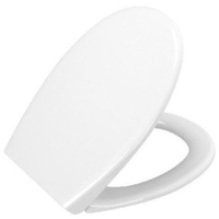 Сиденье для унитазов Vitra универсальное с микролифтом, легкосъёмное, металлические крепления, дюропласт (Grand/Normus/Arkitekt/S20 Rim-ex)