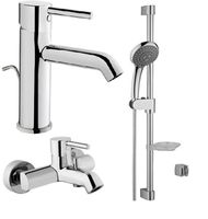 Набор смесителей 3 в 1 Minimax S (смесители для раковины, ванны и душевой гарнитур)