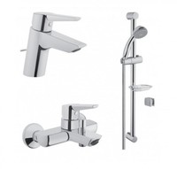 Набор смесителей 3 в 1 Solid S (смесители для раковины, ванны и душевой гарнитур)