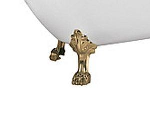 Ножки в форме львиных лап для ванны Faro Retro DMC-9009 цвет золото фото