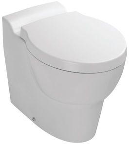 Унитаз напольный без бачка Ove, в комплекте с сиденьем с крышкой с микролифтом фото