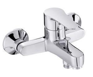 Смеситель для ванны July с эксцентриками,  без аксессуаров, хром фото