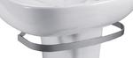 Полотенцедержатель металлический серый для установки с раковинами Odeon Up E4700, E4736, E4737, E4754