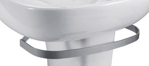 Полотенцедержатель металлический серый для установки с раковинами Odeon Up E4700, E4736, E4737, E4754 фото