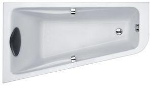 Ванна акриловая угловая асимметричная Odeon Up 160х90 см, левая, для установки с хромированными ручками (приобретаются отдельно) фото