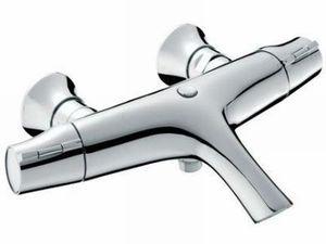 Смеситель для ванны с термостатом Symbol, короткий излив, без аксессуаров, хром фото