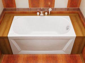Ванна акриловая прямоугольная Лу-Лу 1300х700х575 (ванна, каркас, слив-перелив автомат) фото
