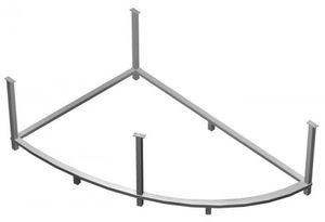 Каркас металлический (опора) для ванны акриловой угловой асимметричной Bain Douche 145x145 см фото