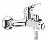 Смеситель для ванны или душа Смарт-Реал, излив 174 мм, с душем, хром