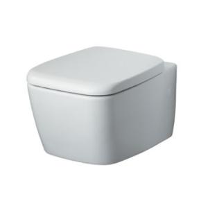 Унитаз подвесной с крышкой с микролифтом Вентуно, белый фото