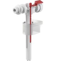 Впускной клапан для бачка унитаза, подвод сбоку G3/8, ниппель пластиковый