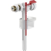 Впускной клапан для бачка унитаза, подвод сбоку G3/8, ниппель латунный