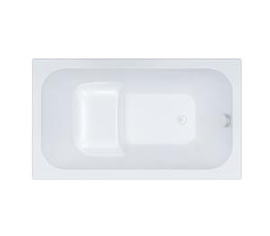 Ванна акриловая сидячая Арго 1200х700х610 (ванна, каркас, слив-перелив автомат) фото