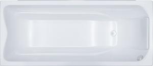Ванна акриловая прямоугольная Берта 1700х700х680 (ванна, каркас, слив-перелив автомат) фото