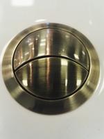 Кнопка смыва арматуры бачка Boheme, цвет бронза