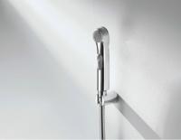 Гигиенический душ в комплекте с держателем и металлическим шлангом 1,2 м., хром