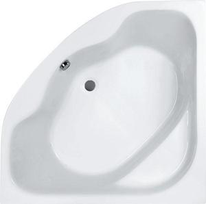 Ванна акриловая угловая симметричная Мелвилл 140х140, белая, без ножек фото
