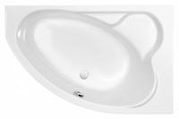 Ванна акриловая угловая асимметричная Kaliope 153x100, правая, белая, без ножек