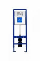 Инсталяция для подвесного унитаза Vector, узкая 39,5 см, высота монтажа 1,2 м, без кнопки