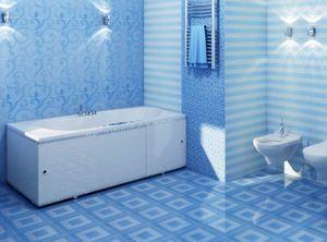 Экран для ванны раздвижной Премиум-А белый, 3 створки, ширина 168 см, высота 56-60 см фото