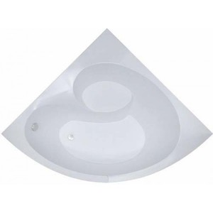Ванна акриловая угловая симметричная Эрика 1400x1400x640 (ванна, каркас, слив-перелив автомат) фото