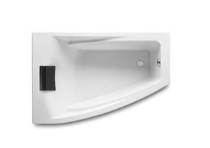 Ванна акриловая угловая асимметричная Hall Angular 150х100х42, левая (каркас отдельно) фото