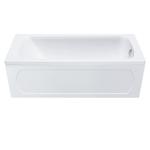 Экран для ванны Gamma-170 лицевой (нераздвижной), белый