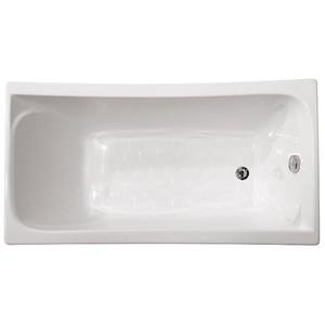 Ванна акриловая прямоугольная Ирис 1300х700х645 (ванна, каркас, слив-перелив автомат) фото