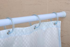 Карниз для ванны Лилия (на выбор белый или цвета нерж. стали) фото