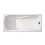 Ванна акриловая прямоугольная Катрин 1700х700х560 (ванна, каркас, слив-перелив автомат)