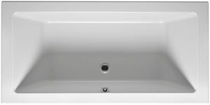 Ванна акриловая прямоугольная Lugo 190х80 см с плоским краем фото
