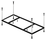 Каркас универсальный для прямоугольной ванны Riho 150х70 и 150х75 см