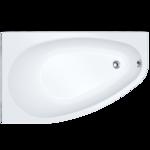 Ванна акриловая асимметричная Marseille 1600х1000х710 Правая