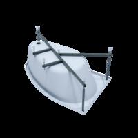 Каркас стальной порошковый для асимметричных ванн 160 и 170 см 1ACReal