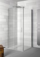 Боковая стенка для душевой двери Ocean O404 R, 100х195 см, прозрачное стекло 8 мм, правая